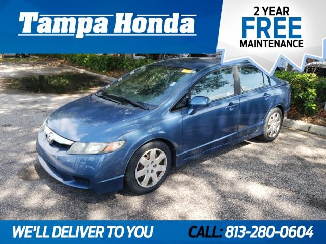 Pre-Owned 2011 Honda Civic 4dr Auto LX