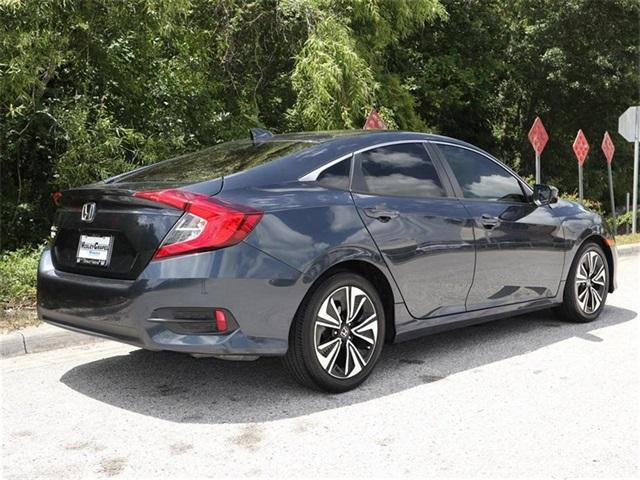 Pre-Owned 2018 Honda Civic EX-T CVT