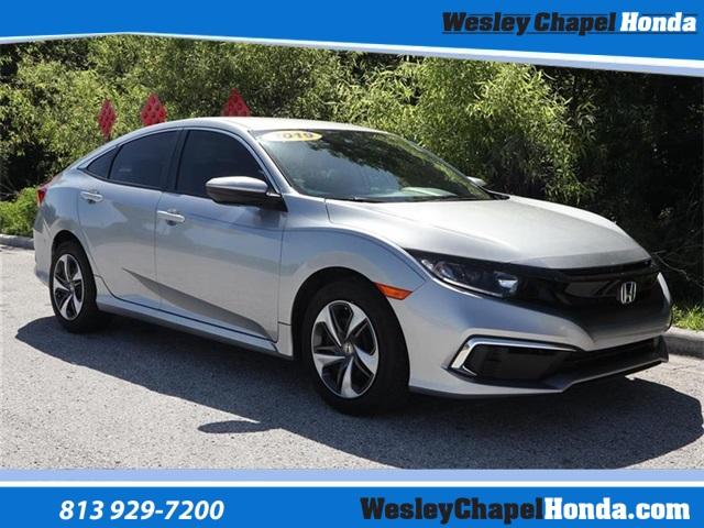 Certified Pre-Owned 2019 Honda Civic LX CVT