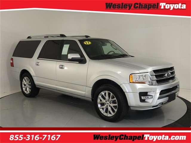 Ford Expedition El >> Pre Owned 2017 Ford Expedition El Limited Rwd 4d Sport Utility