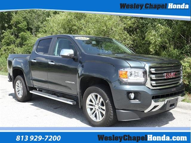 Pre-Owned 2017 GMC Canyon 4WD Crew Cab 128.3 SLT