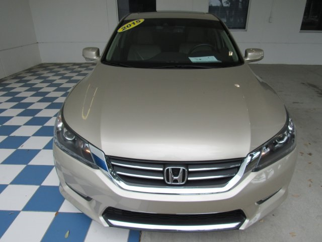 Pre-Owned 2015 Honda Accord EX-L