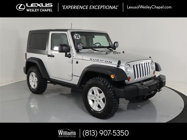 Pre Owned 2010 Jeep Wrangler Rubicon