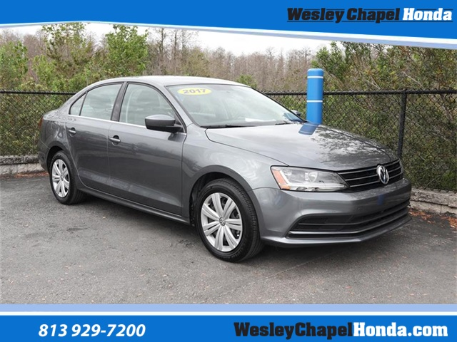 pre-owned 2017 volkswagen jetta 1.4t s 4d sedan in tampa #t371275