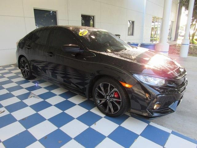 Pre-Owned 2019 Honda Civic Hatchback Sport Manual